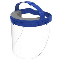 Buy Commercial Full Length Protective Face Shield w/Adjustable Headgear on sale online