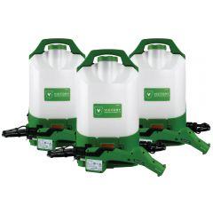 Victory Professional Cordless Electrostatic Backpack Sprayer (Bundle of 3)