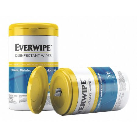 Buy Everwipe Disinfectant Wipes (75 Wipes/Tub, 6 Tubs/Case) on sale online