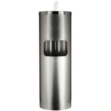 Sanitizers Plus Stainless Steel Wipe Dispenser Floor Stand