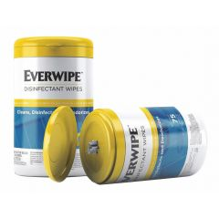 Everwipe Disinfectant Wipes (75 Wipes/Tub, 6 Tubs/Case)