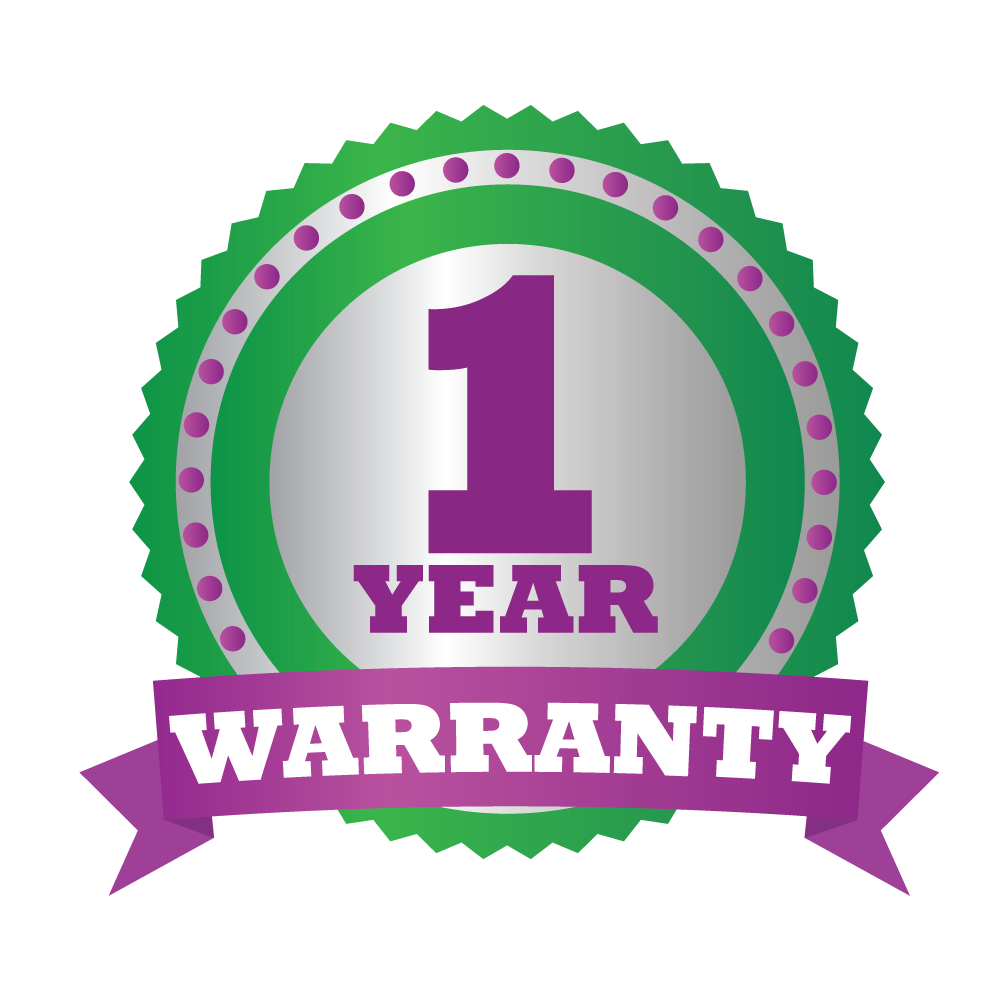 One Year Warranty
